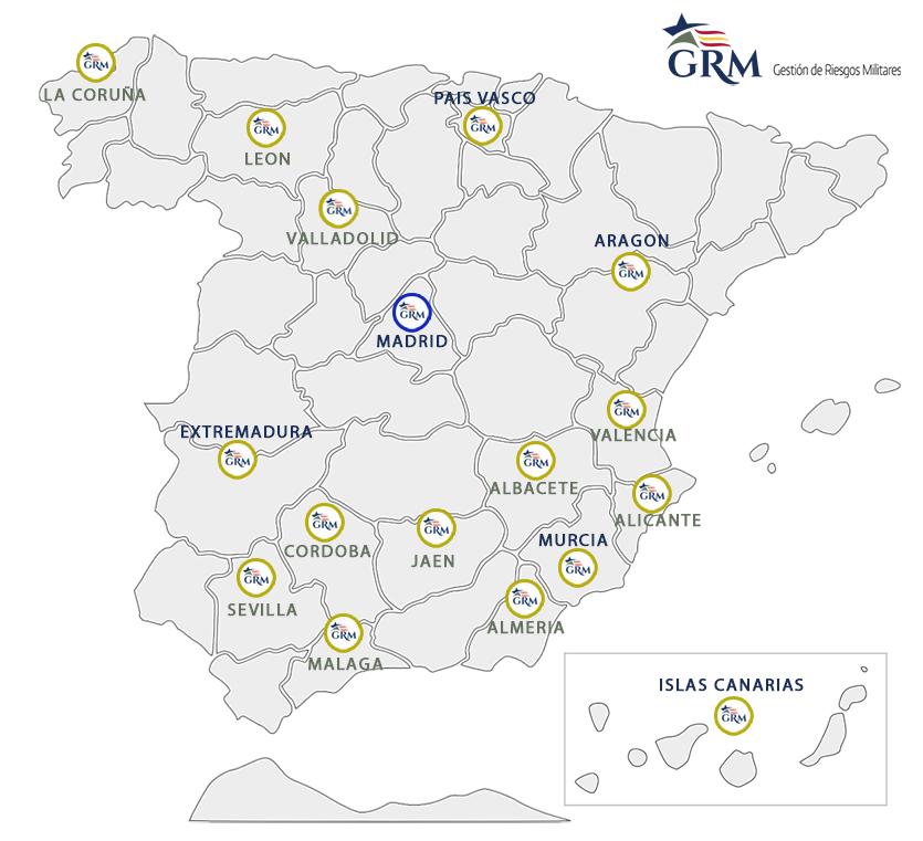 Delegados en España de GRM Seguros