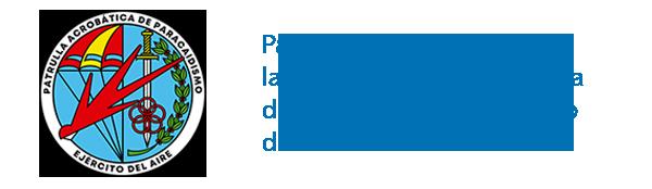Patrocinador oficial de la Patrulla Acrobática de Paracaidismo del Ejército del Aire (PAPEA)
